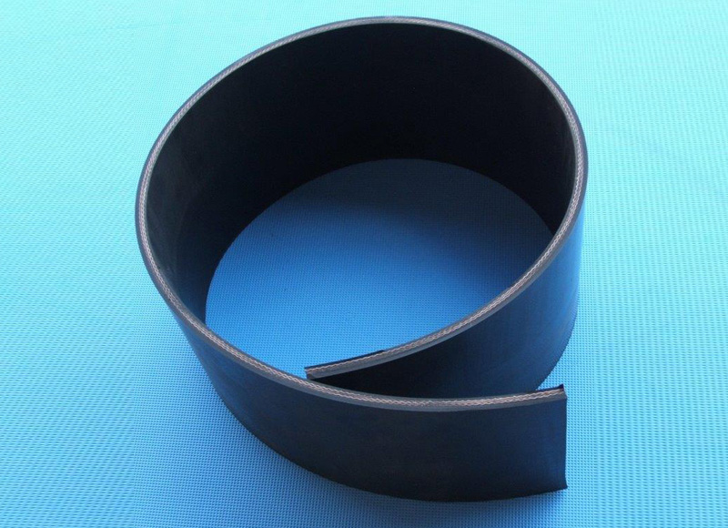 3ply Light Duty Rubber faced Belting 8mm thick
