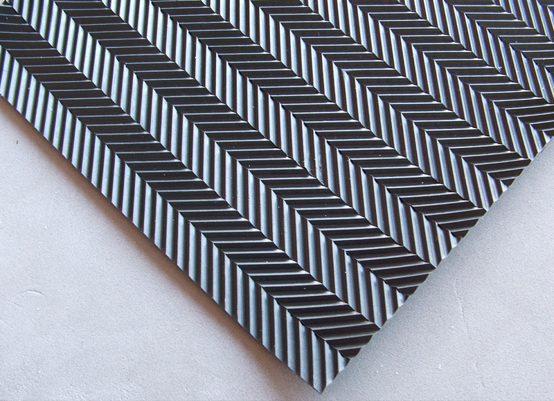 Herringbone Rubber Matting